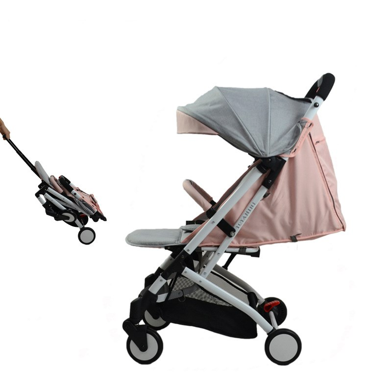 micaline baby baby strollers ultra-lightweight folding can sit can lie high landscape umbrella baby trolley free shipping eu ru no tax baby strollers lightweight folding umbrella stroller can sit can lie ultra light portable baby strollers for dolls