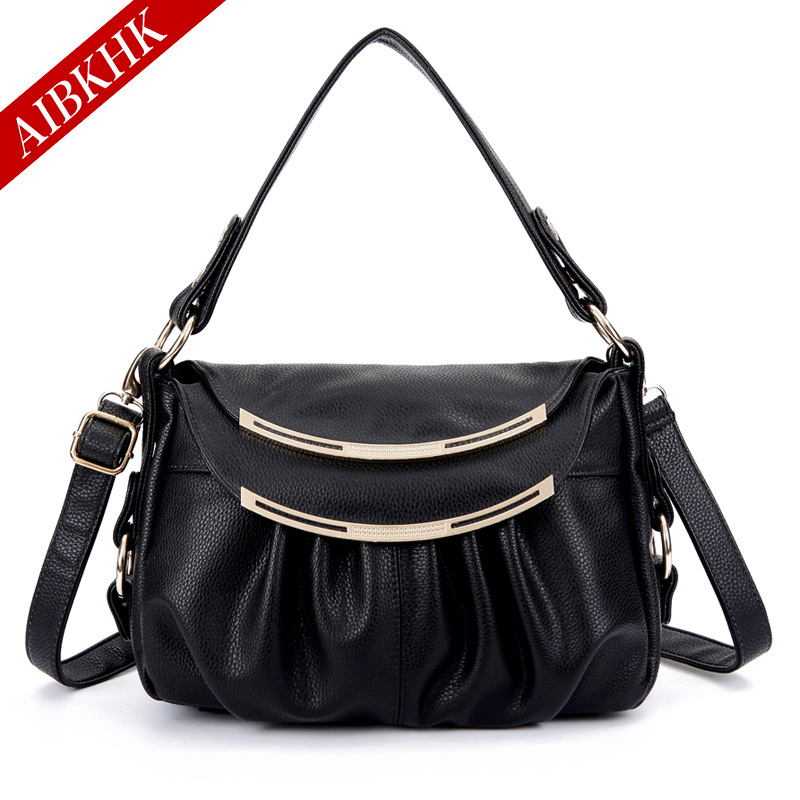 Famous Brands Genuine Leather Women Messenger Bags Female Casual Shoulder Bags Designer Handbags High Quality Tote Crossbody Bag qiaobao 100% genuine leather women s messenger bags first layer of cowhide crossbody bags female designer shoulder tote bag
