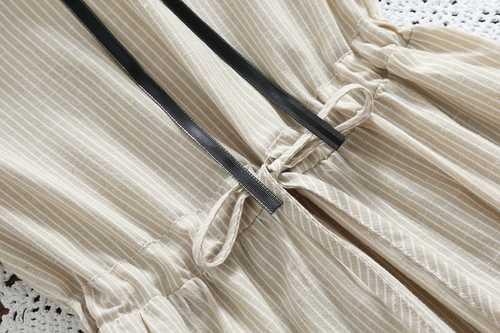 2019 夏の女性のかわいいかわいいドレス森ガールピーターパン襟カジュアルルーズ女性 Elbise 半袖コットンリネンシャツドレス