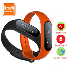 D.W.L Y2plus Smart Heart Rate Monitors Wristband Smart OLED Bluetooth waterproof Bracelet Pedometer fitness tracker PK mi band 2