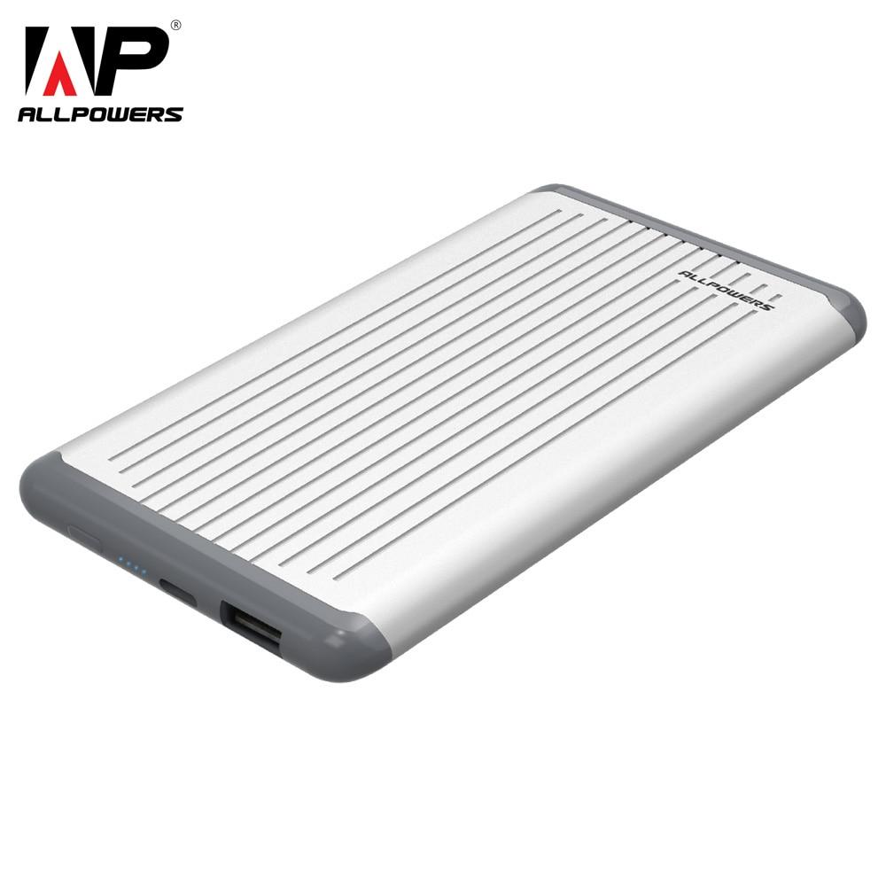 ALLPOWERS Power Bank 5000mAh External Battery Portable