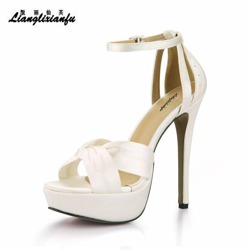 Beige 43 Stilettos Sandales Sangle Mince formes Sandalias Été Llxf Shipping Pompes Mujer Talons Eur 14 Femme Cm Plates Cheville 35 Drop Chaussures Sdq1AARZn