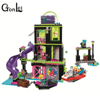 GonLeI BELA 10690 Compatible With Legoings Marvel Super Heroes Girls Building Blocks Bricks Toys Lena Luthor