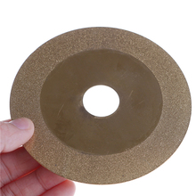 100mm Rotary Tool 1pc Diamond Wheel Grinding Disc Grain Fineness Cutting Electroplated Saw Blade