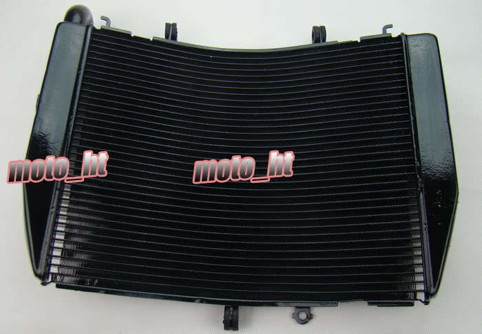 Radiator For Honda CBR600RR 2007 2008 2009 2010 Black 07 08 09 10 F5 kemimoto 2007 2014 cbr 600 rr aluminum radiator grille grills guard cover for honda cbr600rr 2007 2008 2009 2010 11 2012 13 2014