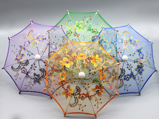 BJD Doll Accessories Umbrella for 16 Inch and 18 Inch Doll Toys for Girls Christmas Gift Kids Toys