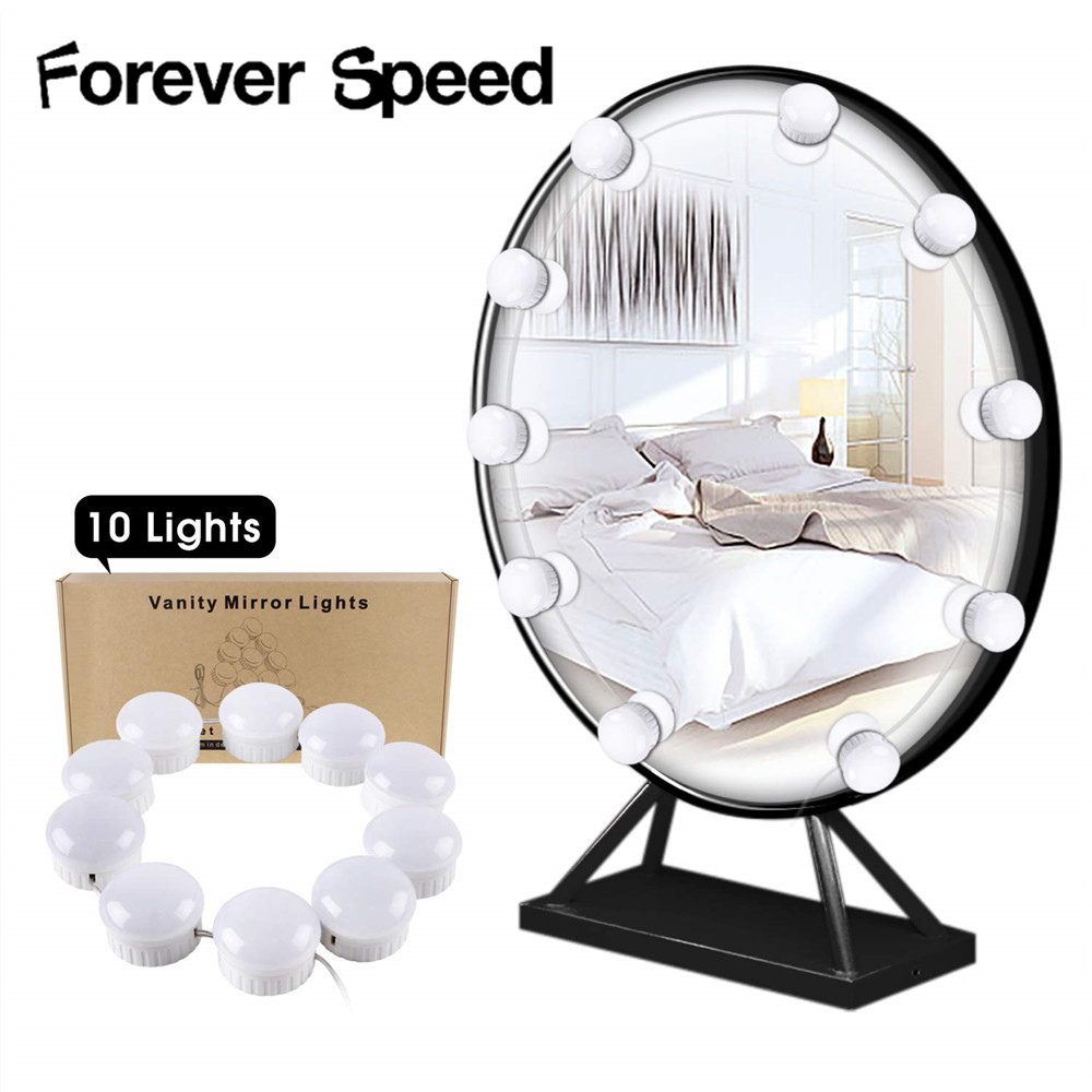Makeup Led Mirror Vanity Light Led Light Bulb Decoration For Home Bathroom Bulb Modern Dimmable Cosmetic Lamp Lampa Kosmetyczna