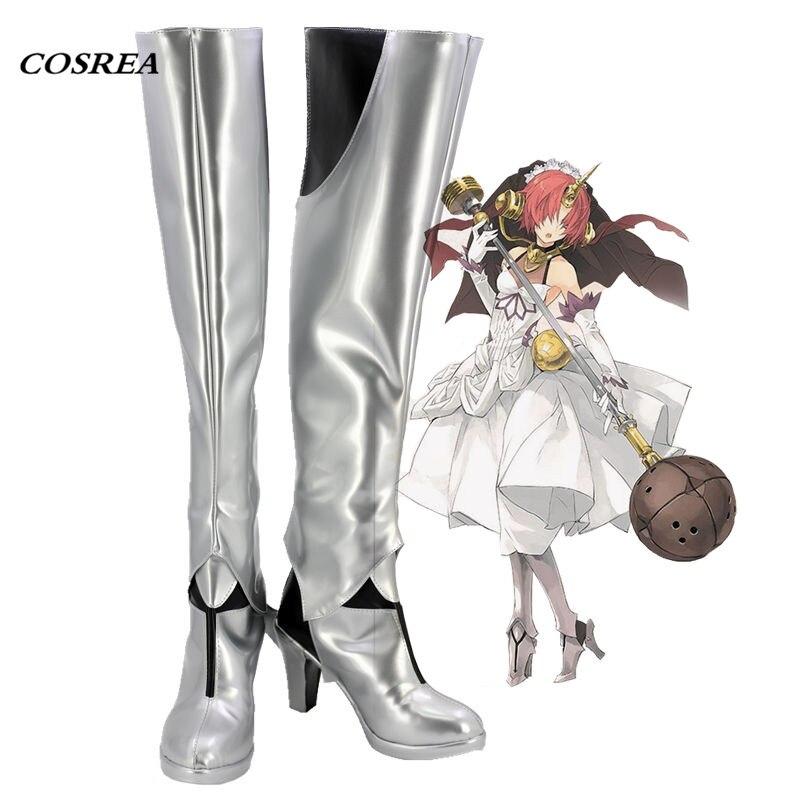 COSREA FGO Cosplay Costume Fate Grand order Frankenstein Berserker High Heel Boots Cosplay Halloween Party Shoes