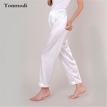 Trousers For Women Fashion Silk Sleep Pants luxurious silk W