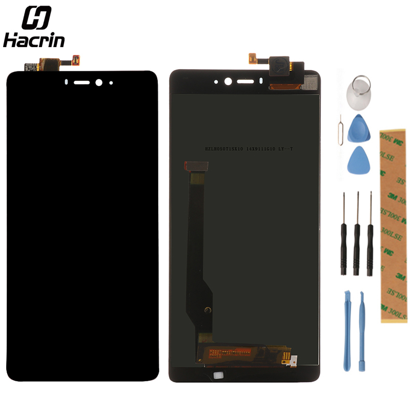 hacrin LCD Screen For Xiaomi Mi4c 5.0inch lcd display+touch Screen Panel Replacement For Xiaomi Mi 4C M4c Prime Smart Phone
