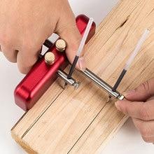 Aluminium Alloy Carpenter Woodworking Scriber Tool Wood Ink Marker DIY Center Alignment Gauge Tools