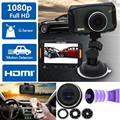 Car-styling Full HD 1080P 3 Car DVR Camera Video Recorder Dash Cam Night Vision G-Sensor