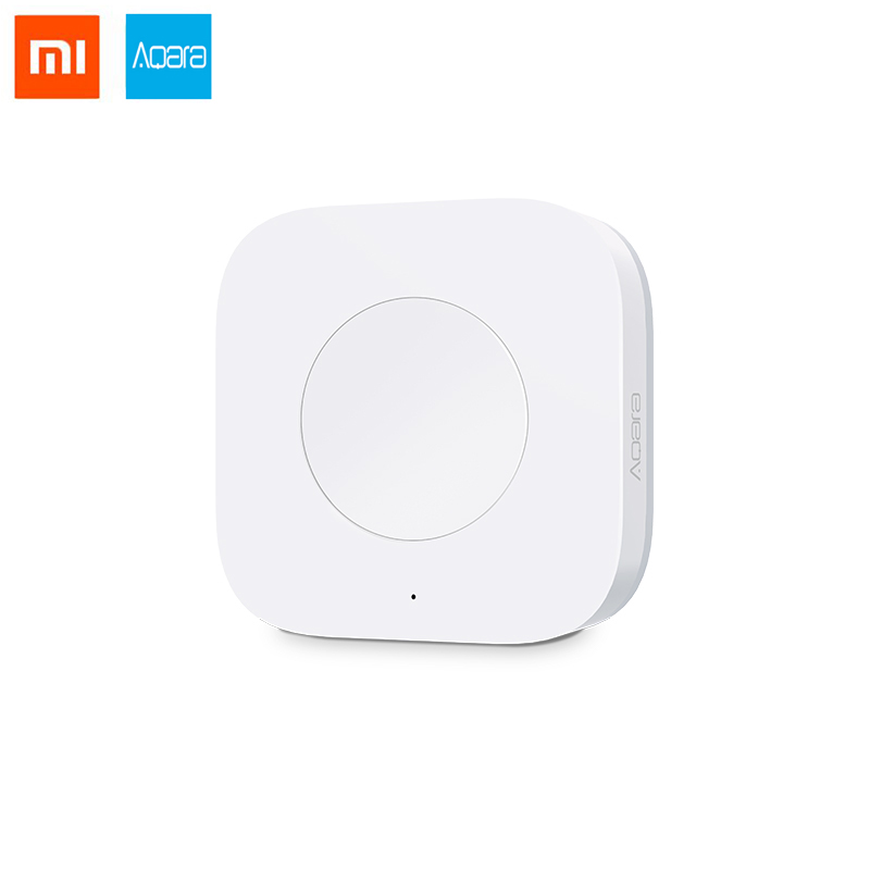US $13 99 |Xiaomi AQara Smart Multi Functional Intelligent Wireless Switch  Key Built In Gyro Function Work With Multi function gateway-in Building