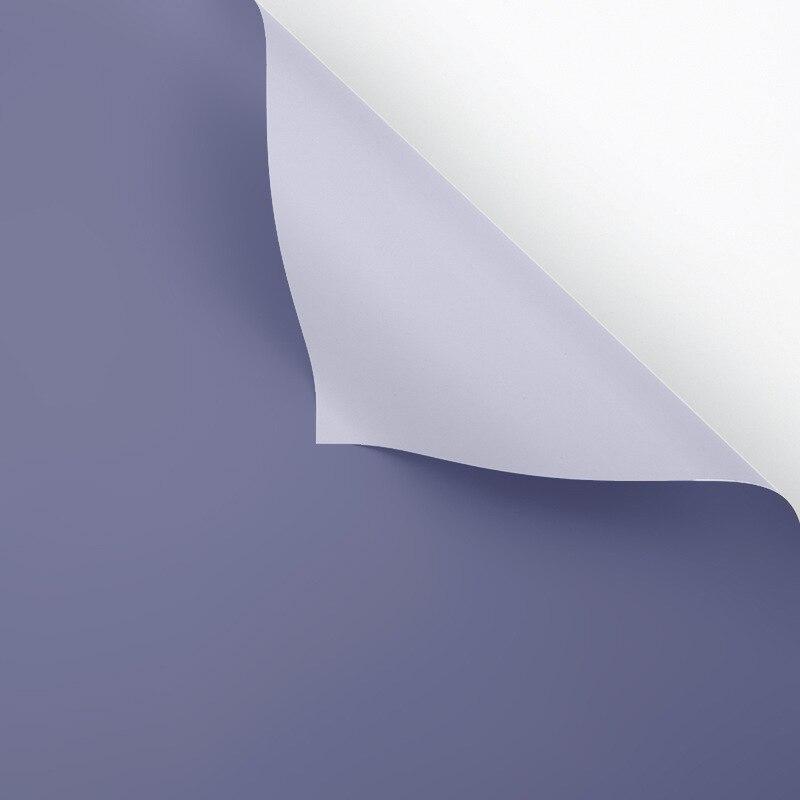 60 см* 10 м/рулон конфеты цвет цветок оберточная бумага Роза свадебная бумага для украшения на рождество упаковка букета материал - Color: R