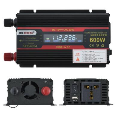 Car Inverter 12V 220V 6000W Pe ak Power Inverter Voltage Convertor Transformer 12V/24V To 110V/220V Inversor + LCD Display 23