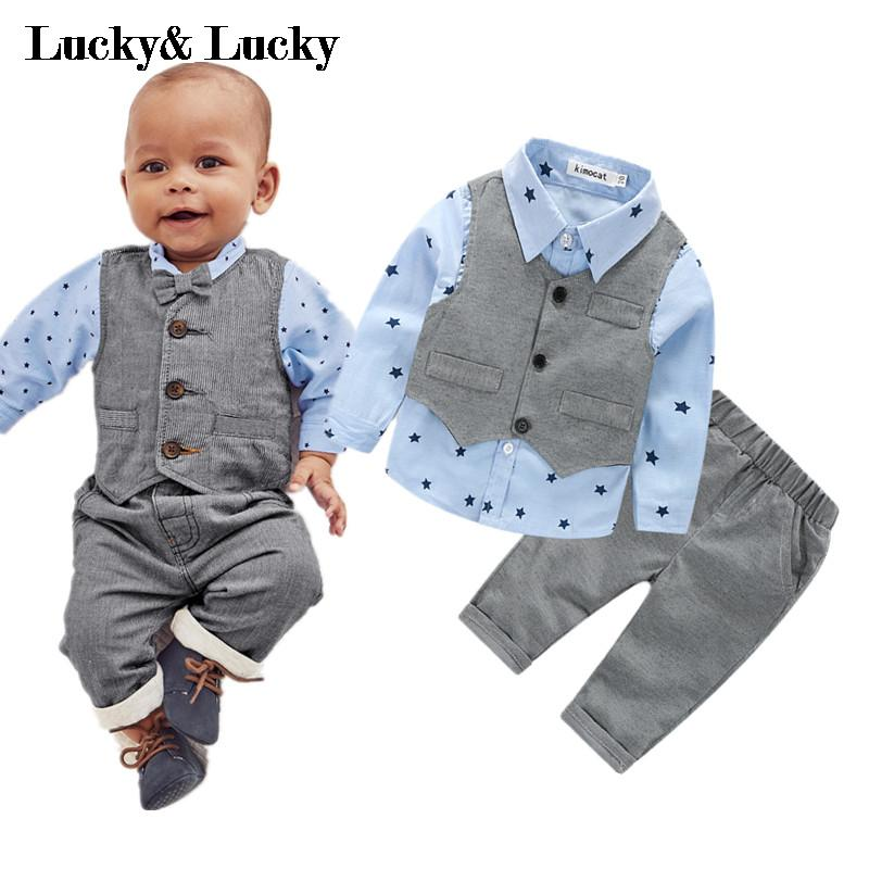 Lucky-Lucky-new-style-newborn-baby-gentlemen-boy-3pcsset-clothing-set-shirtvestcasual-pants-quality-baby-clothes-2
