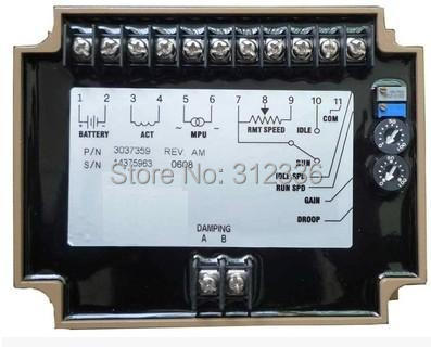 Free Shipping EFC 3037359 SPEED CONTROL UNIT Generator accessories speed controller governor speed control board