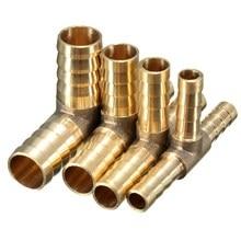 6 мм 8 мм 10 мм 12 мм Латунь Т-образная часть 3 Way топливный шланг Столярный разъем для воздуха, нефти, газа