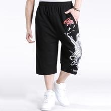 SINYIT 2020 nueva ropa de marca de moda de talla grande holgada Hip Hop cráneo hombres Casual Beach Shorts Boardshort XXXL 4XL 5XL 6XL