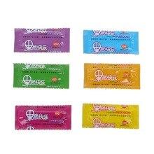 10Pcs Fruit Flavour Large Oil Quantity Super Latex Condoms Sex Tool Products For Men Adult