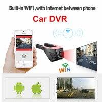 New Wireless WiFi Car DVR Camera Video Recorder Loop Recording Full HD 1080p Novatek Dash Cam