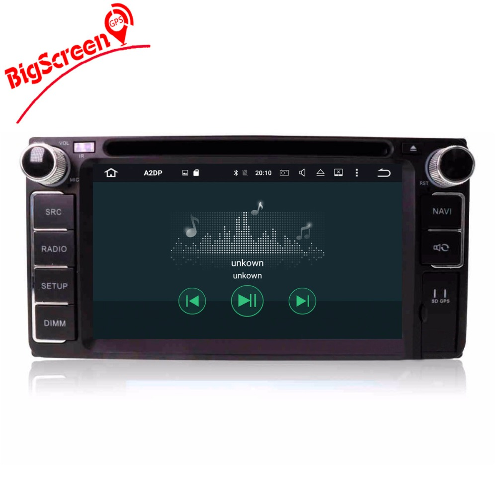 Top Android8.0 7.1 System Octa 8 Core Car DVD Player GPS Navigation For Most of Toyota Car Headunit Multimedia Autoradio Monitor 5