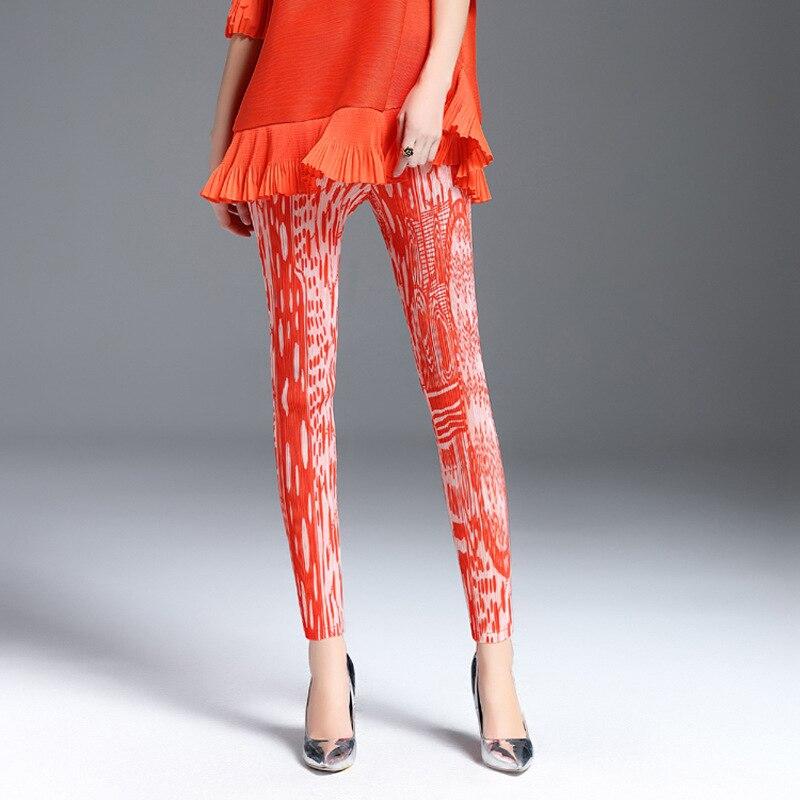 Pantalones elásticos para mujer a la moda con pliegues-in Pantalones y pantalones pirata from Ropa de mujer on AliExpress - 11.11_Double 11_Singles' Day 1