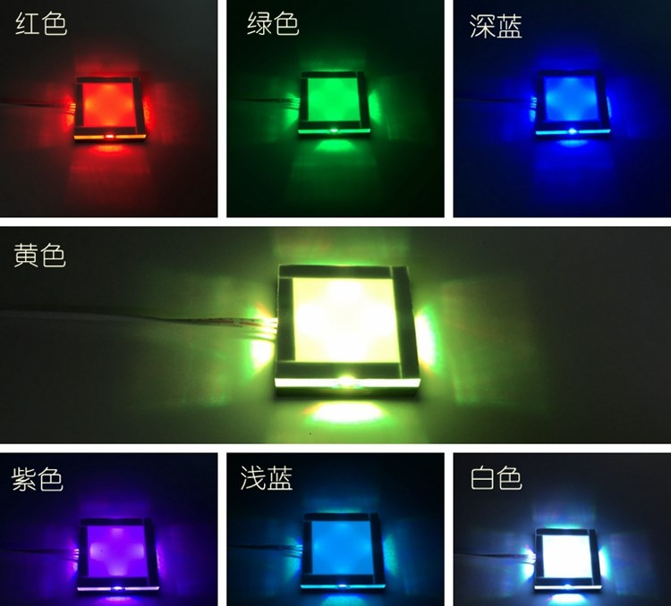 Seven colour light up Touching sensor Props Real life Escape room game adjust correct colour to unlock Takagism adventure game