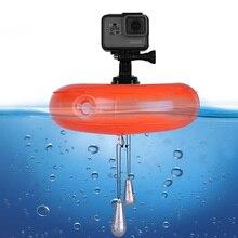 TELESIN Air Float Floating Airbag disc Platform Buoyant Pad for GoPro Hero7 Hero 6 5 4 3 for Xiaomi YI 4K for SJCAM accessories