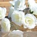 2 m 20 pcs Warm White Camellia Criativo DIY Manual de Bateria LED String Fada Luzes De Natal LEVOU Iluminação Noturna Luminaria