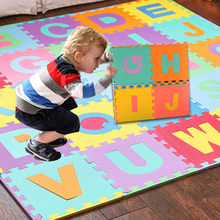 36pcs LARGE Floor Play Mat Alphabet Numbers EVA Floor Play Mat Baby Room Jigsaw ABC foam Puzzle tapete para sala Rug(China)