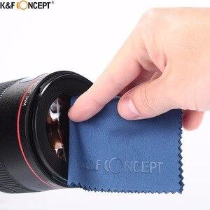 Image 4 - K & F CONCEPT marque UV CPL ND4 caméra objectif filtre 52/55/58/62/67/72/77mm chiffon de nettoyage + pochette filtrante pour appareil photo reflex numérique Nikon Canon