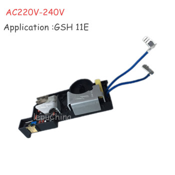 цена на AC220V-240V The Speed regulator  governor replacement For BOSCH  GSH 11E GSH11E 11Kgs hammer