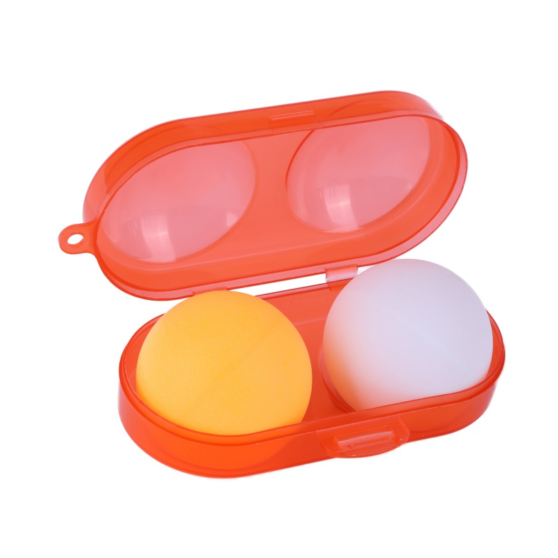 Table Tennis Ball Container Box Hard Plastic Case Ping Pong Ball Storage Box Table Tennis Accessories Easy To Carry