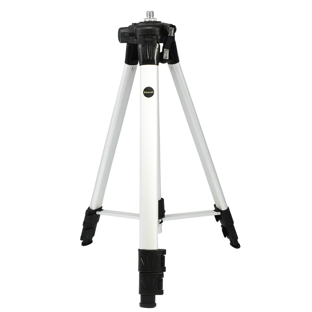 Firecore 1.4M Height Adjustable Aluminum Tripod Dedicated To Laser Level free shipping 1 2m aluminum tripod laser level tripod adjustable tripod laser line tripod