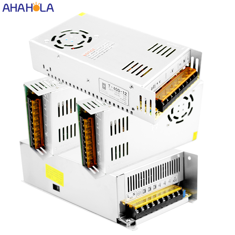 360w 400w 500w 600w Switching Power Supply 12v 30a 40a 50a Led Driver Transformer Source AC 220 V to DC 12 V Power Supply Unit image