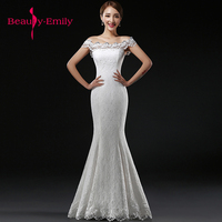 Customized new spring and summer bridal dress off shoulder with simple and concise body slim bride wedding dresses Beauty