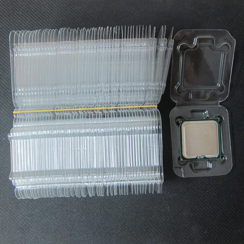 INTEL CPU Clamshell Tray Box Case Holder Protection LGA775 1150 1155 1156 478