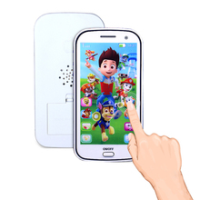 1* Kids Baby Cute Musical Learning Mobile Phone Toys Figure Educational Flash Intelligent Fun Game Gifts Toys for Children 2017