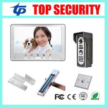 Good quality 7inch video door phone door intercom 7 night version color screen video door bell
