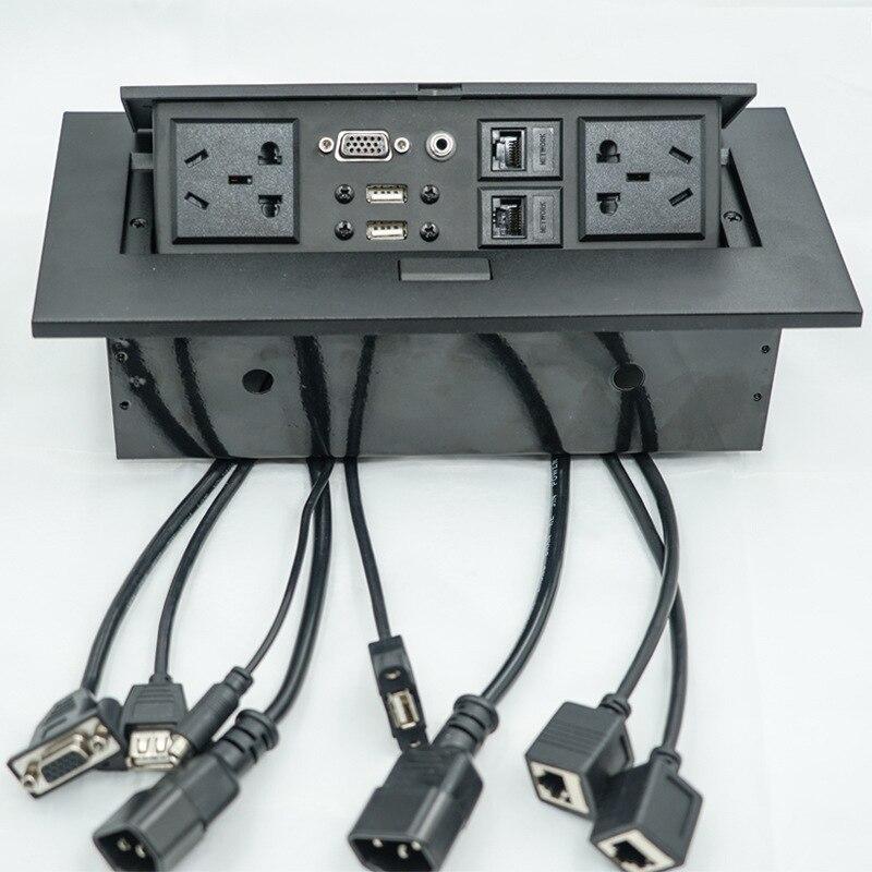 Groovy New K523 Multi Function Desktop Socket Pop Up Type Wiring Free Dual Wiring Digital Resources Operpmognl