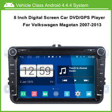Android Car DVD/GPS player for Volkswagen VW Magotan 2007-2013 GPS Navigation Multi-touch Capacitive screen,1024*600