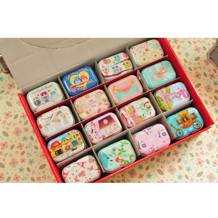 small toy box promotionshop for promotional small toy box on  - new year  cheap owl design metal tin box toy small storage boxes macmakeup jewelry box christmas gift box for kids pclot