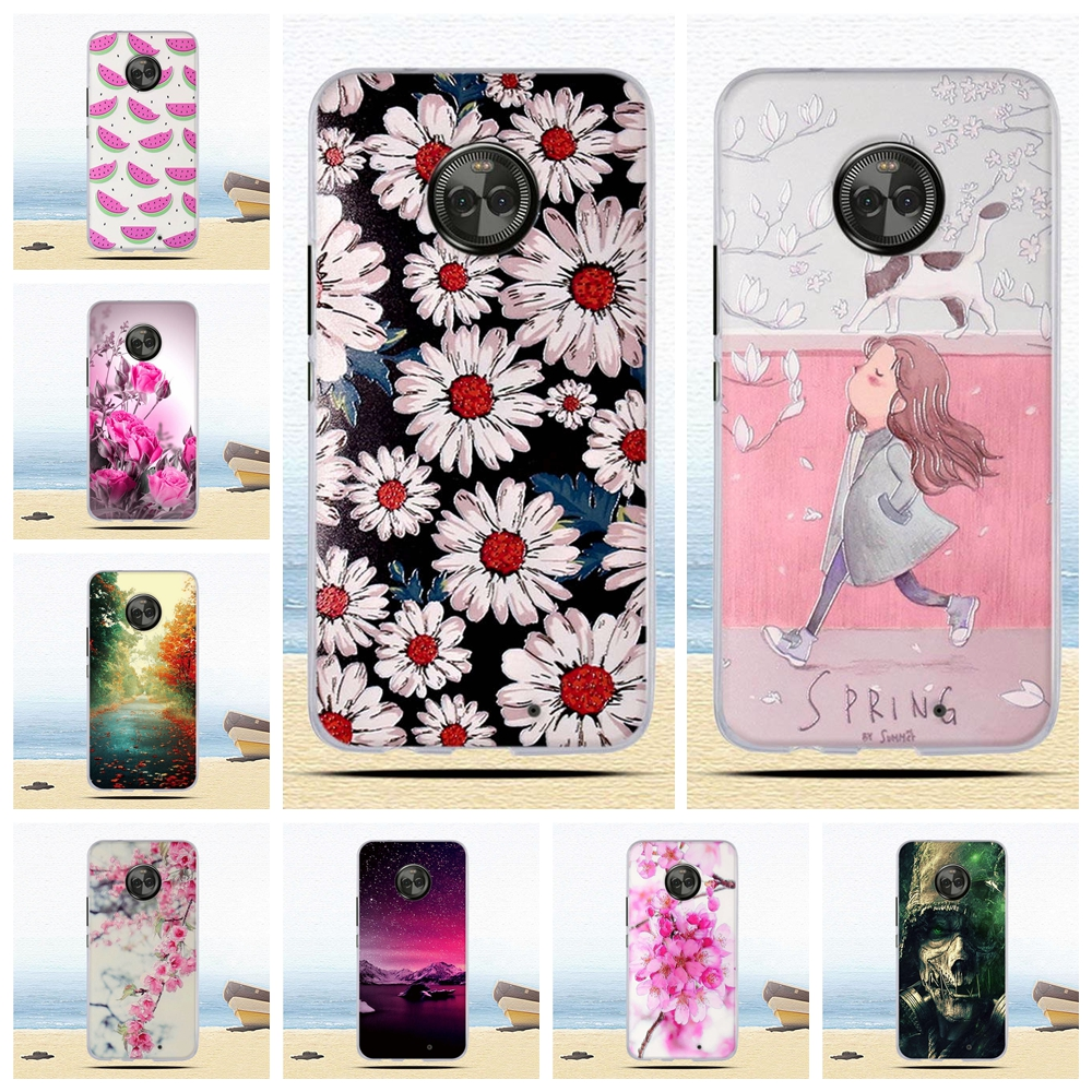 Case for <font><b>Motorola</b></font> <font><b>Moto</b></font> X4 Case Cover for <font><b>Motorola</b></font> <font><b>Moto</b></font> <font><b>XT1900</b></font> X 2017 (4th gen) Cover TPU Silicone for <font><b>Motorola</b></font> <font><b>Moto</b></font> X4 Coque bag image