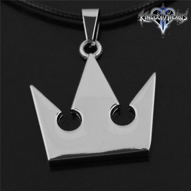 Dropshipping fine jewelry kingdom hearts imperial crown metal dropshipping fine jewelry kingdom hearts imperial crown metal necklace keyblade pendant cosplay accessories jewelry gift for aloadofball Choice Image