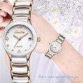 Женские часы с кристаллами  модные кварцевые часы розового золота  наручные часы из нержавеющей стали  2019