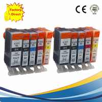 PGI525 PGI 525 XL CLI-526 PGI-525 PGI-525XL Ink Cartridges Replacement For  Pixma MG5350 MG6150 MG6250 MG8150 MG8250