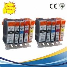 10x PGI525 PGI 525 XL CLI-526 PGI-525 PGI-525XL Ink Cartridges For Canon Pixma MG5350 MG6150 MG6250 MG8150 MG8250 Inkjet Printer