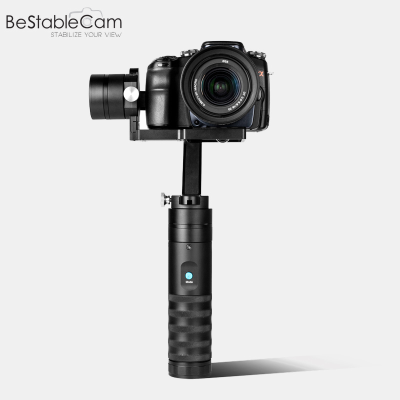 BeStableCam H4 Lite RTF Brushless Handheld Gimbal Gyro Stabilizer for Mirrorless Digital DSLR Sony A7S Nex5 vs Zhiyun Crane/M спот globo lord 5436 2
