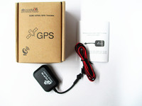 Portable Mini GPS GSM GPRS Car Vehicle Real Time SMS SOS Personal Tracker Black